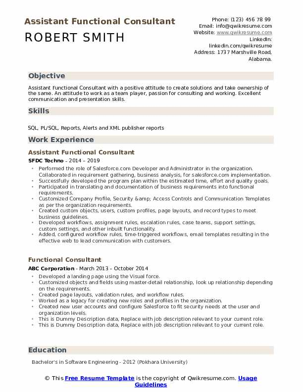 functional consultant resume samples qwikresume workday integration pdf free federal Resume Workday Integration Resume