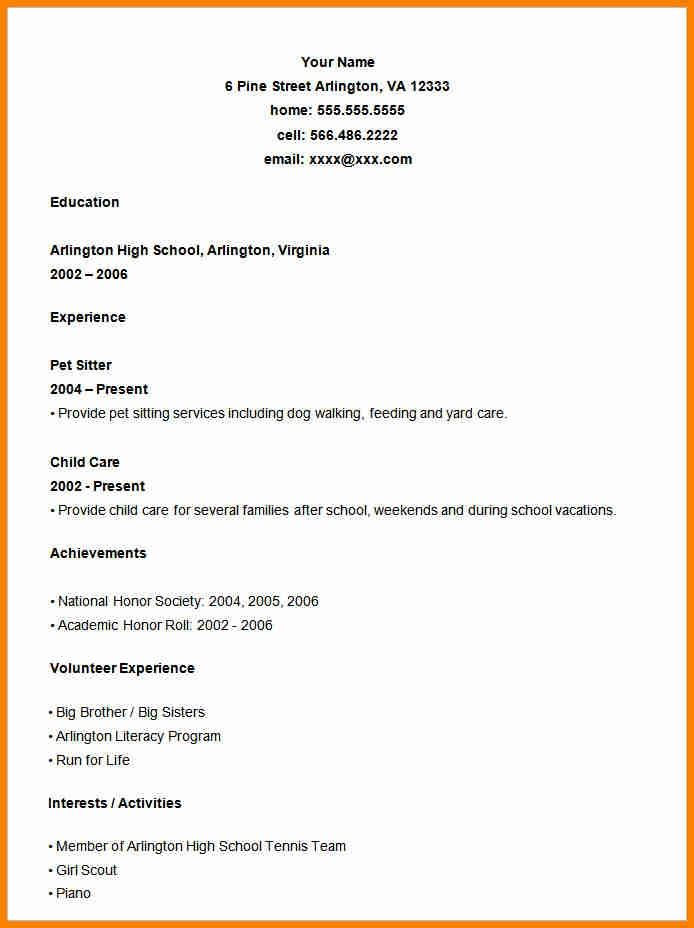 general cv format quick askips student resume template downloadable free readymade police Resume Free Readymade Resume Format