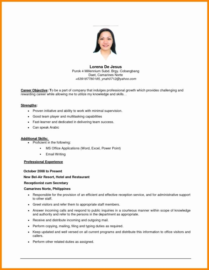 generic objective for resume inspirational general examples in job basic effective Resume Effective Resume Objectives Samples