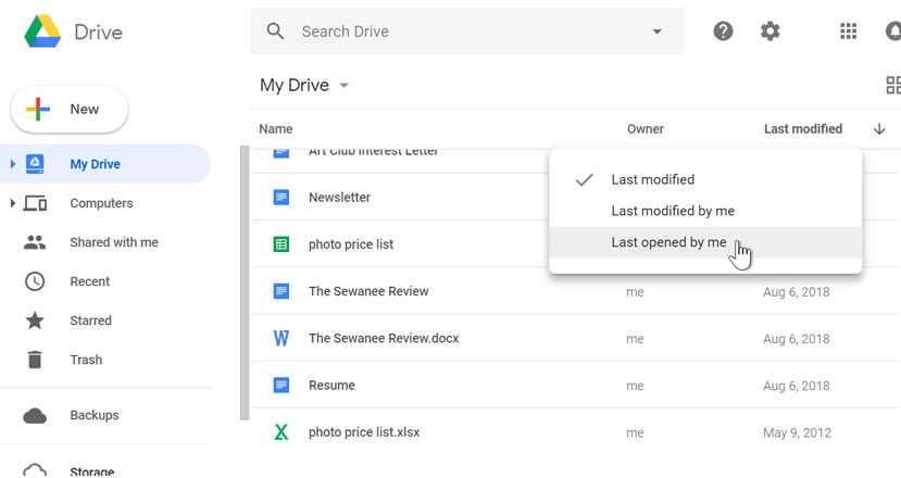 google sheets managing your files drive resume support sort files1 unf help auto service Resume Google Drive Resume Support