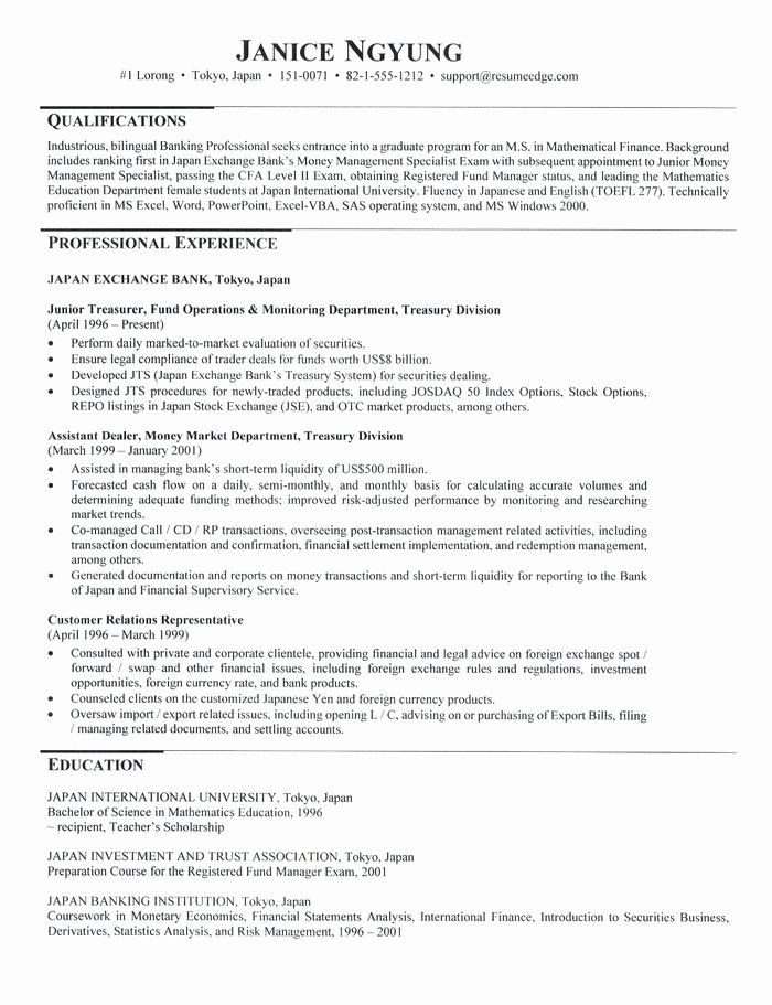 graduate school resume example awesome admissions in for application teacher examples Resume Graduate School Application Resume Examples