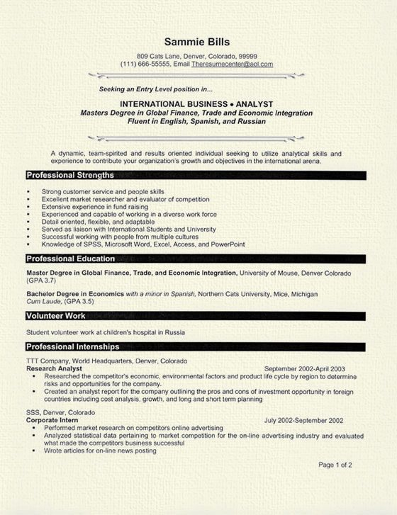 graduate student resume examples job sample skills for financial analyst templates adobe Resume Graduate Student Resume Sample
