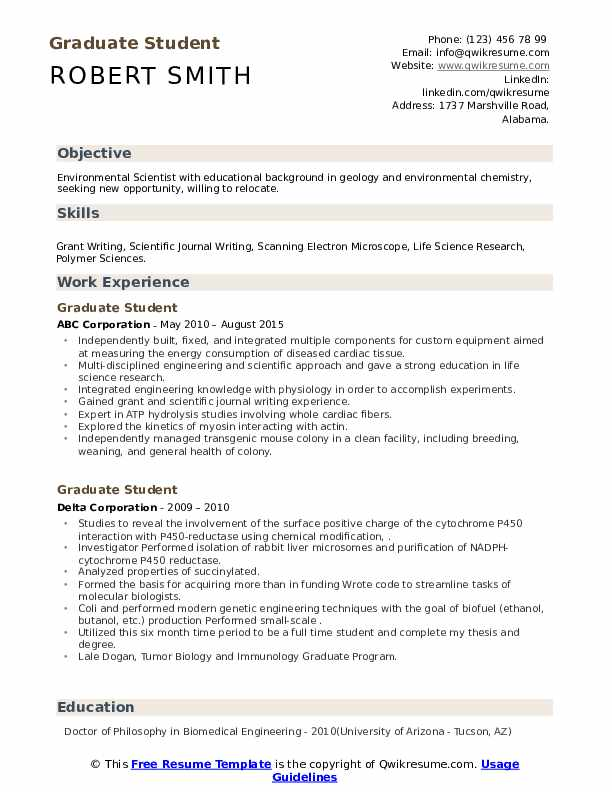 graduate student resume samples qwikresume sample for school application objective pdf Resume Sample Resume For Graduate School Application Objective