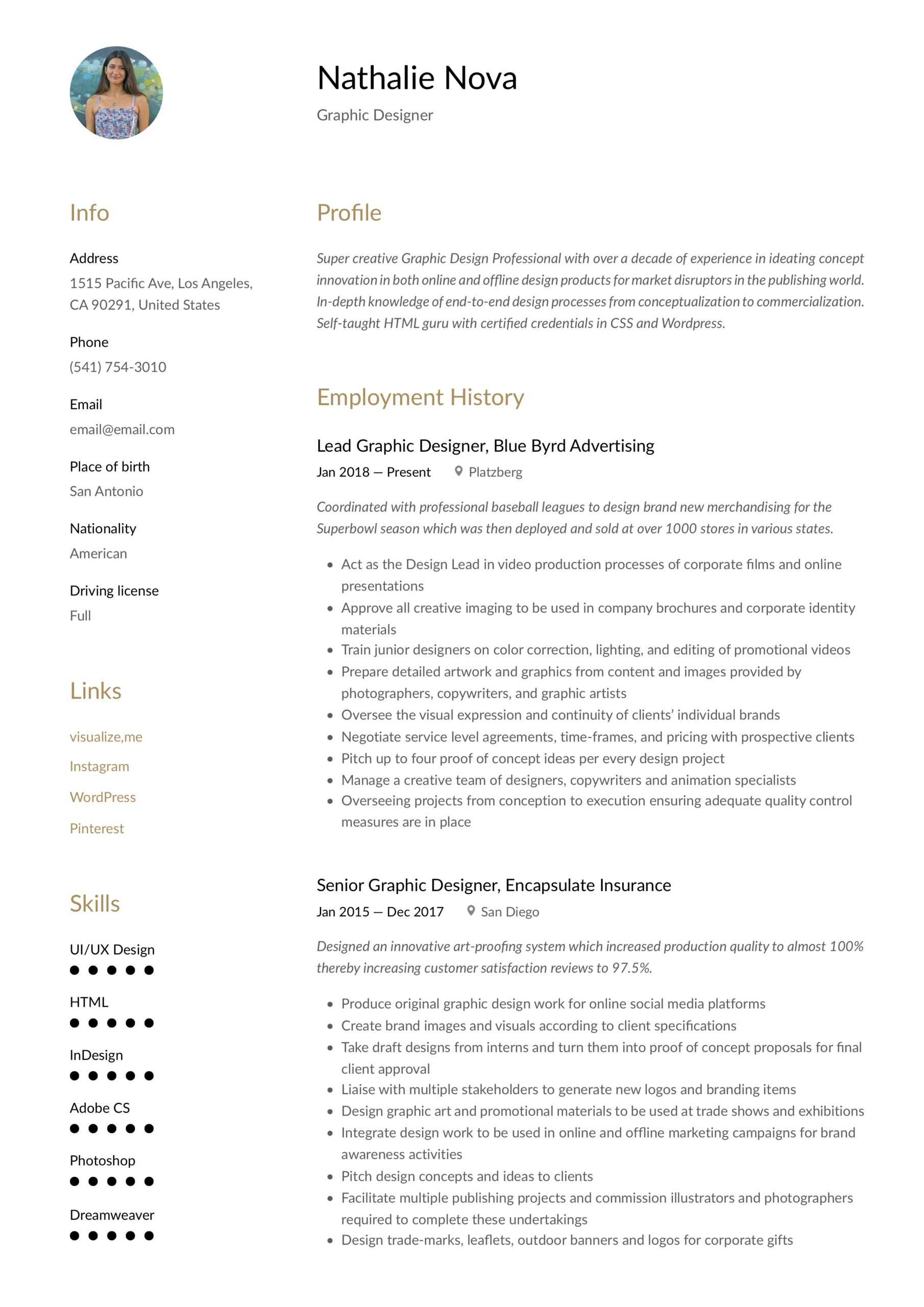 graphic designer resume writing guide examples objective statements yoga instructor Resume Graphic Designer Resume Objective Statements