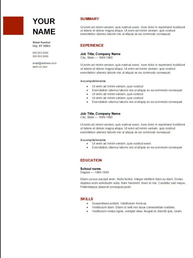 great resume template from admissions advice examples free printable format for mba Resume Resume Format For Mba Admission