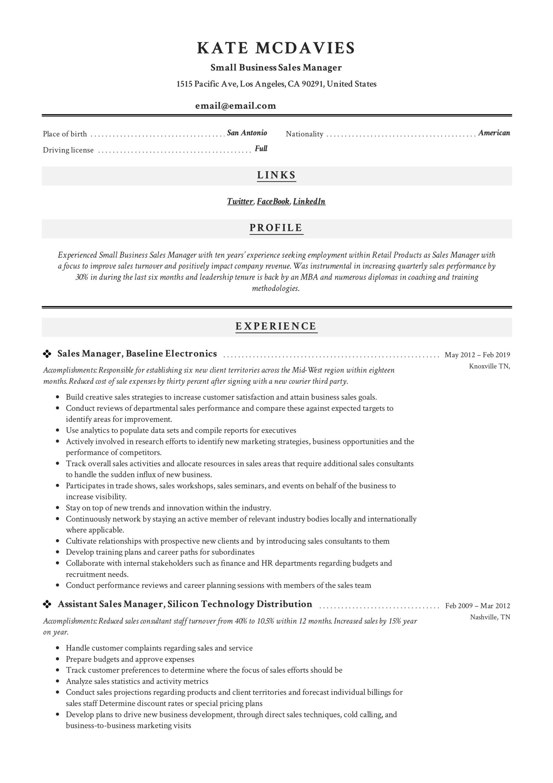 guide small business manager resume x12 sample pdf retail training example cute template Resume Retail Training Manager Resume