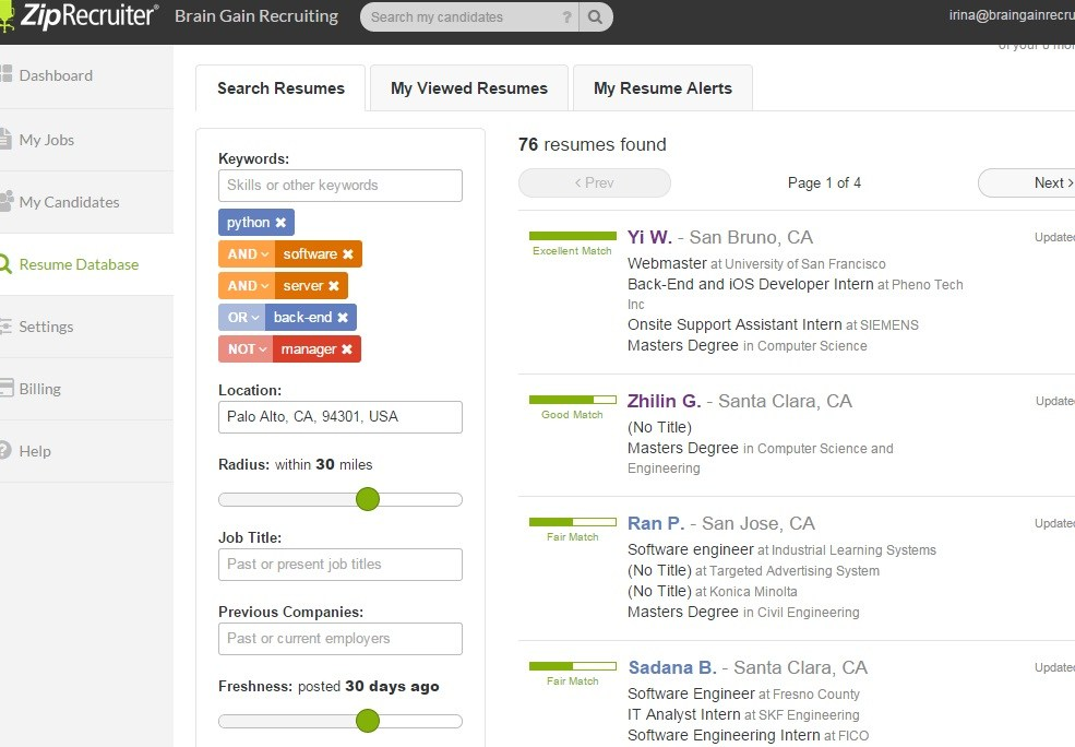 have you discovered ziprecruiter resumes yet boolean strings resume search zipr listing Resume Ziprecruiter Resume Search