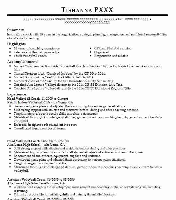 head volleyball coach resume example academy wheat ridge assistant best summary Resume Assistant Volleyball Coach Resume