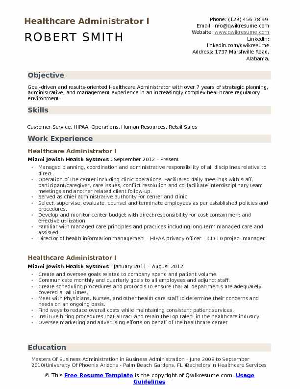 healthcare administrator resume samples qwikresume management pdf plumber format whats an Resume Healthcare Management Resume