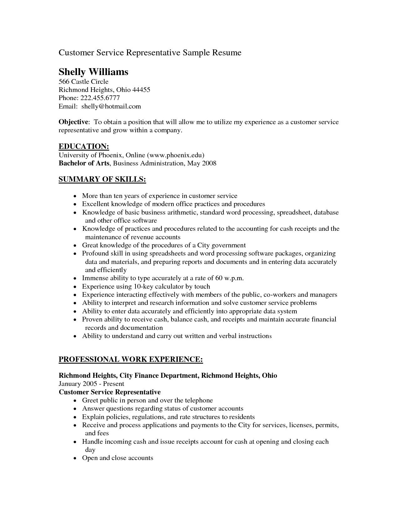 hiring manager resume sample new customer service objectives of special hiri objective Resume Customer Service Experience Resume Objective