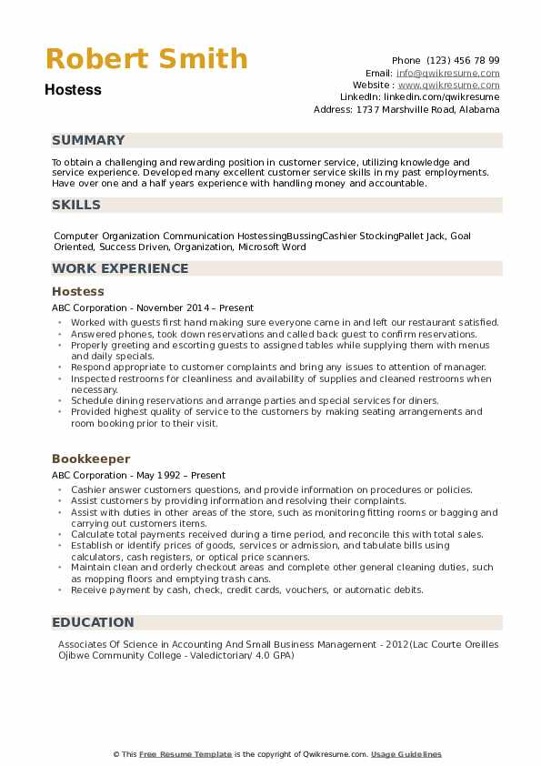 hostess resume samples qwikresume description pdf animation format for freshers lpn Resume Hostess Resume Description