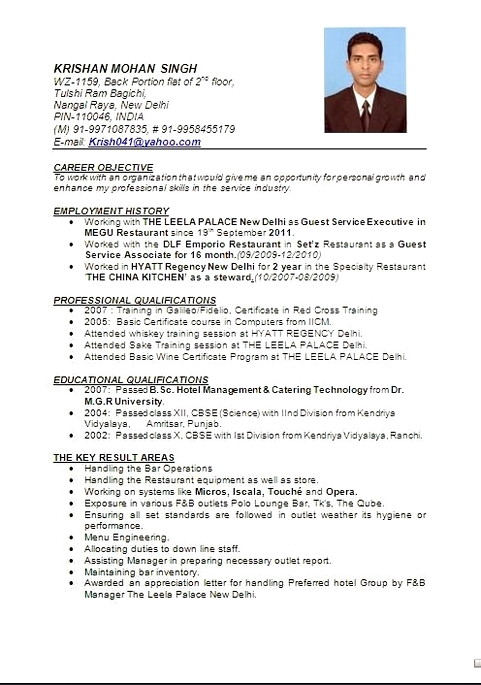 hotel management resume format manager word training employees on remote job relationship Resume Hotel Manager Resume Word Format