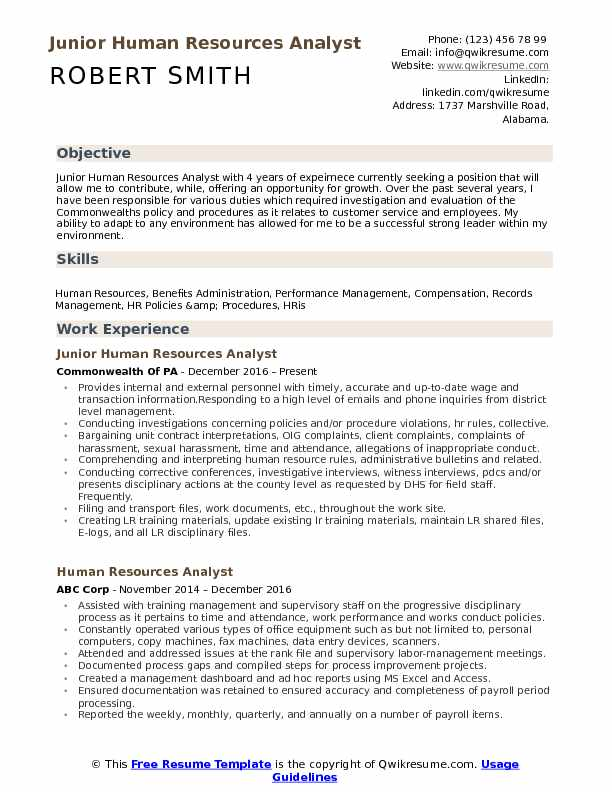human resources analyst resume samples qwikresume pdf contractor assistant area manager Resume Human Resources Analyst Resume