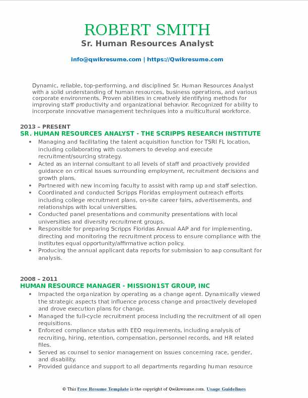 human resources analyst resume samples qwikresume pdf quality assurance business Resume Human Resources Analyst Resume