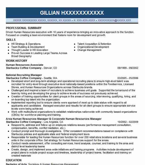 human resources associate resume example livecareer compliance corporate salesforce cpq Resume Compliance Associate Resume