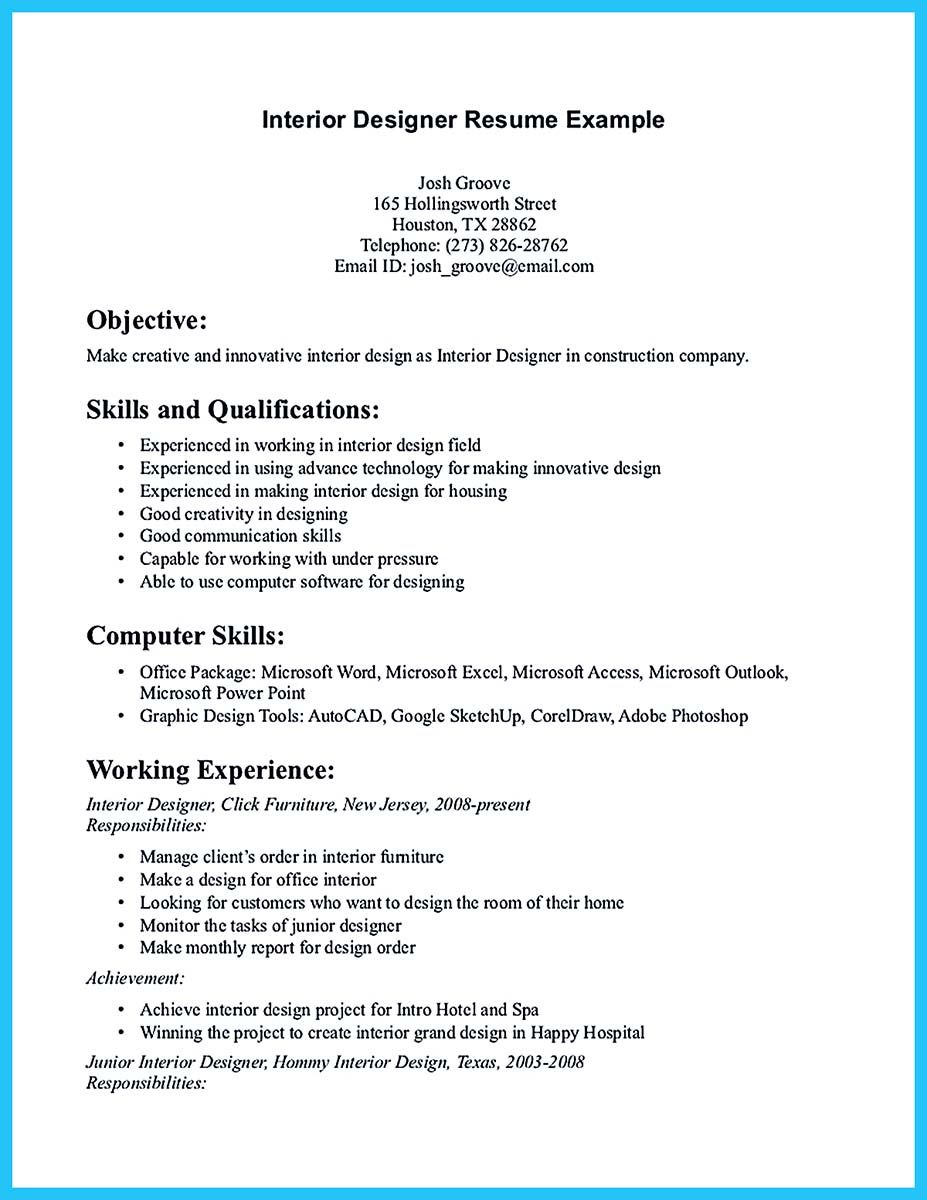 if you are an architect and want to make proposal for your job need provide architec Resume Sharepoint Designer Resume Sample