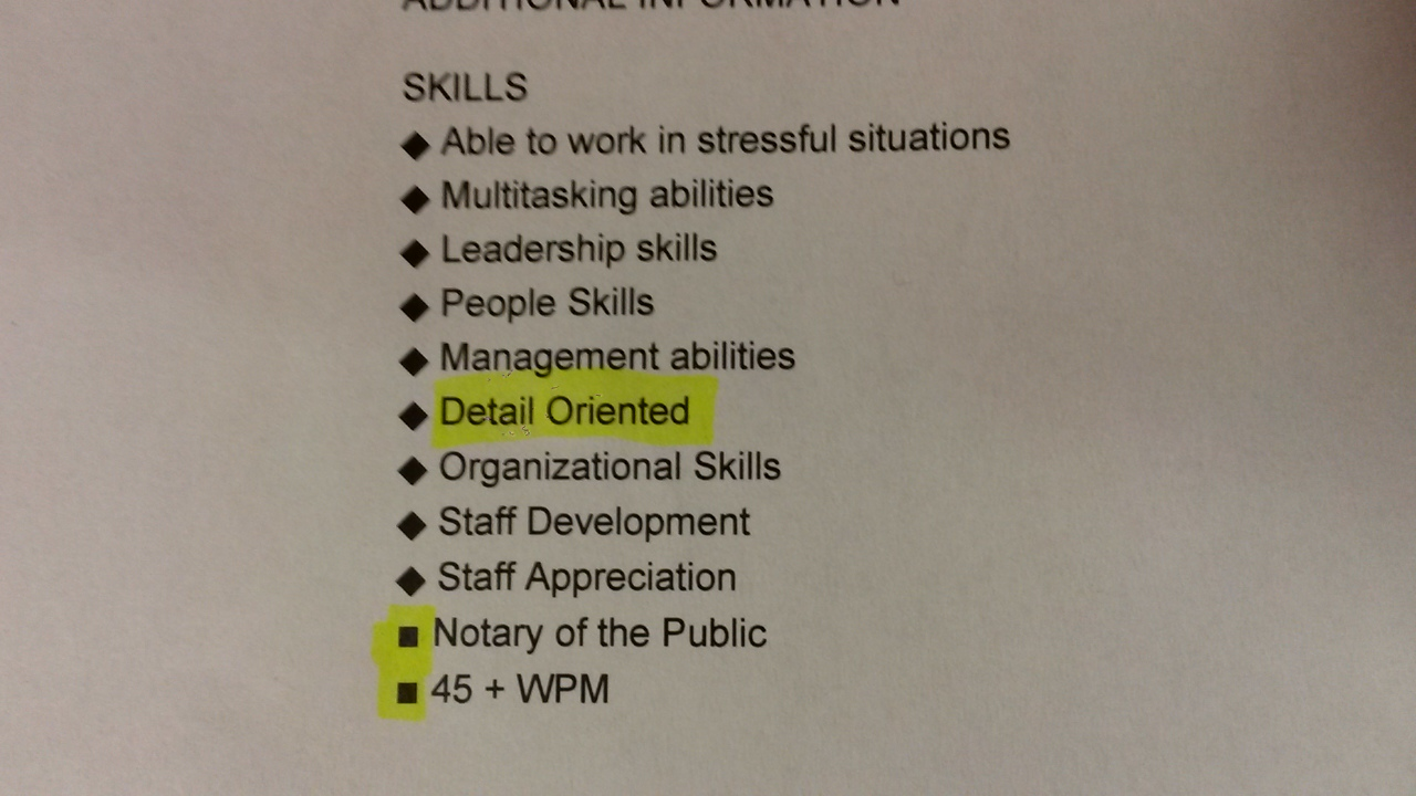 if your resume says detail oriented make sure you are mildlyinfuriating skills on qmpj5eg Resume Detail Oriented Skills On Resume