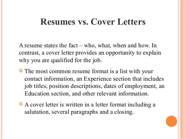 importance of resume and cover letter difference between relocation sample college Resume Difference Between Cover Letter And Resume