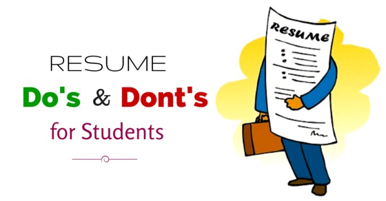 important resume dos and don ts for students to remember wisestep tips donts software Resume Resume Tips For Students