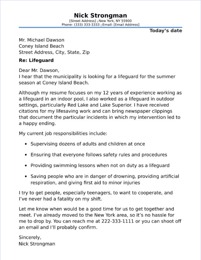 impressive cover letter examples law and security jobs resume with lifeguard sample Resume Impressive Resume With A Cover Letter