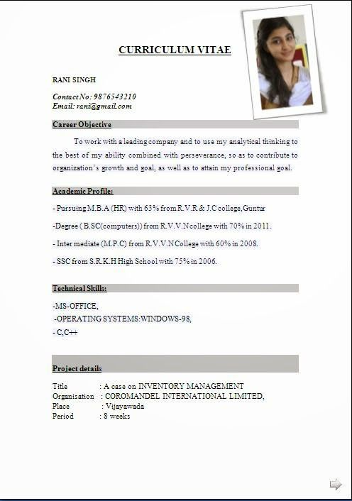 international resume format free pdf for overseas employment fresher 12th pass latest Resume Resume For Overseas Employment