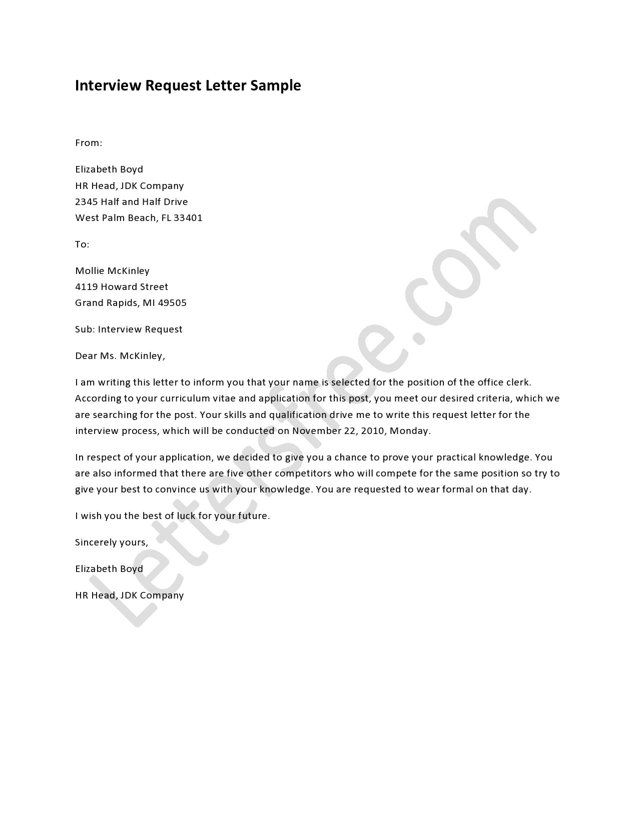 interview request letter free letters lettering sample job resume from candidate Resume Request Resume From Candidate