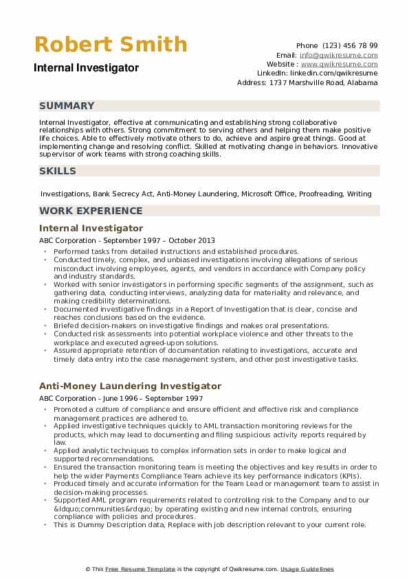 investigator resume samples qwikresume entry level private pdf technical template send on Resume Entry Level Private Investigator Resume