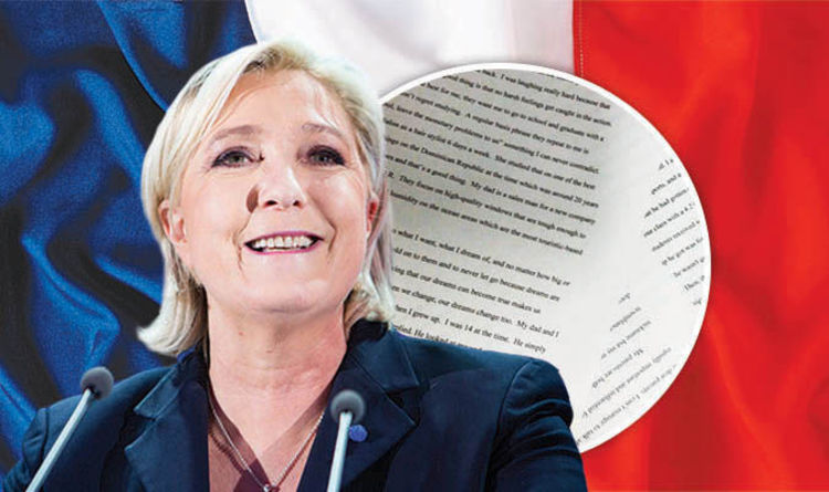 is marine le pen programme are her french election policies world news express resume Resume Resume Programme Marine Le Pen