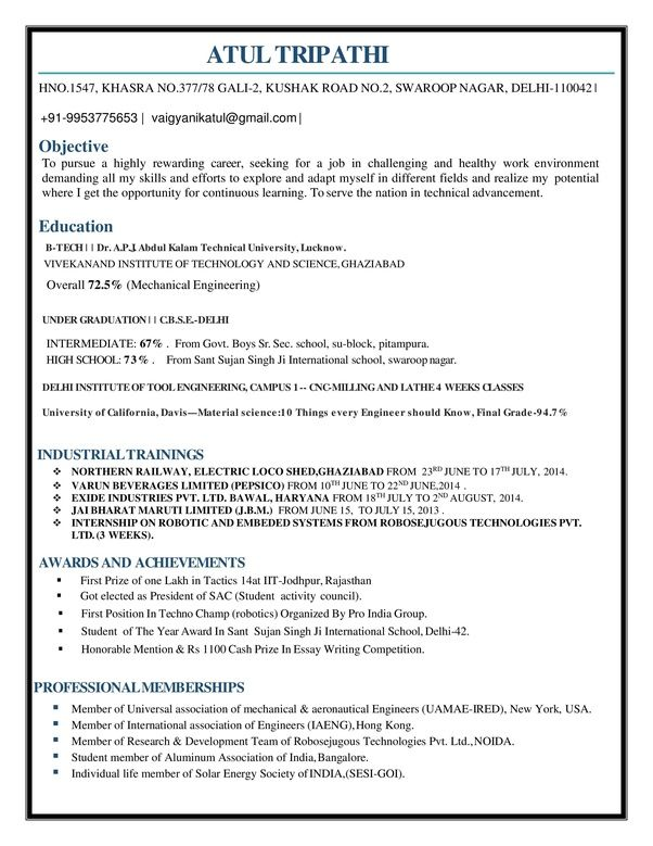 is the best resume for mechanical engineer fresher quora engineering samples aeronautical Resume Resume Samples For Fresher Aeronautical Engineers