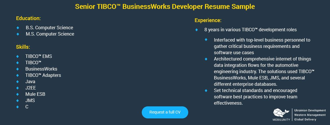 is tibco developer in development business requirements oracle spotfire resume mechanical Resume Tibco Spotfire Developer Resume