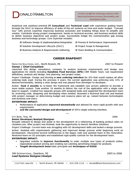 it consultant resume sample technology examples itconsultanta intro business management Resume Technology Consultant Resume Examples