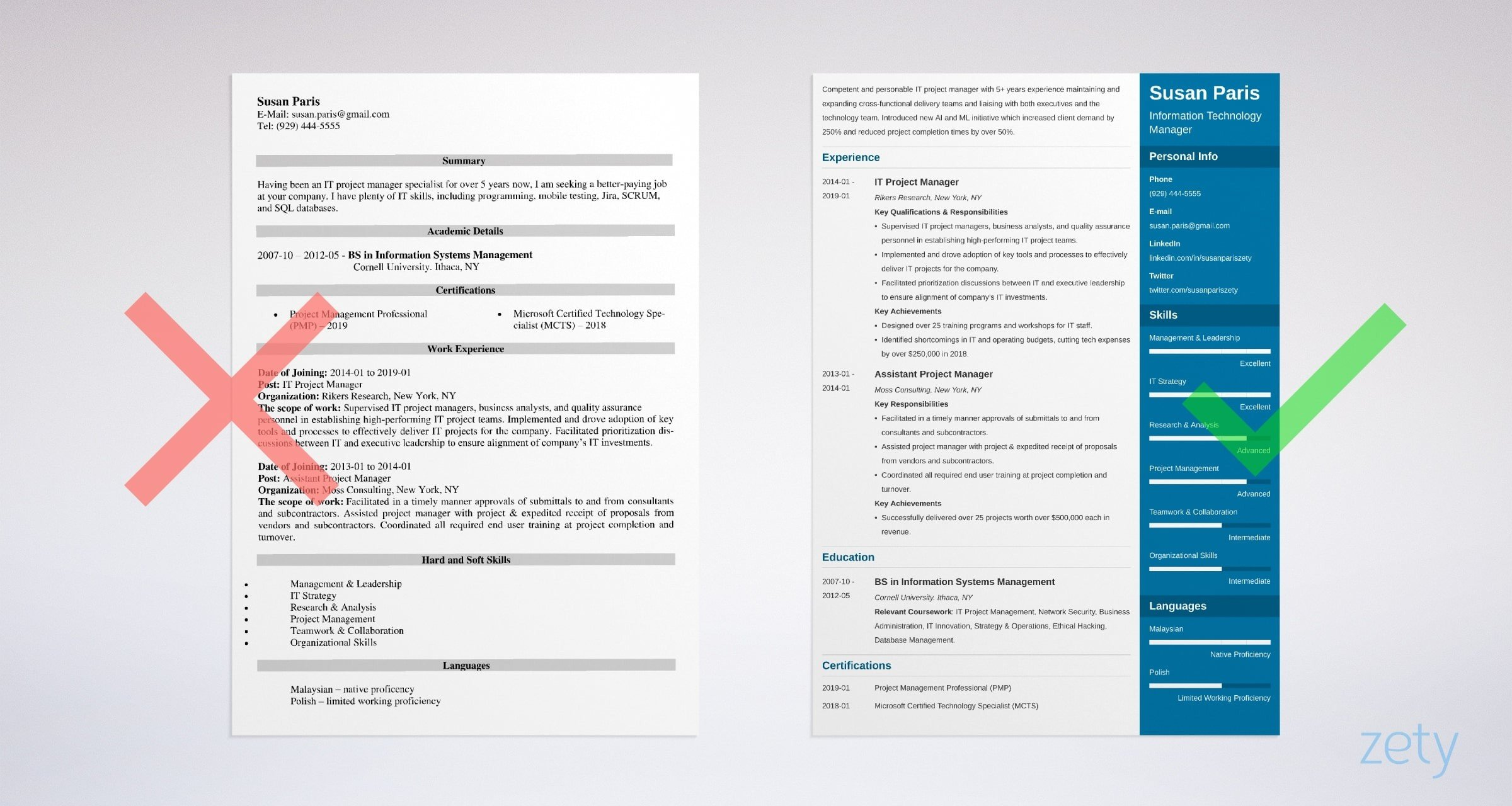 it manager resume examples template and tips information technology example for caregiver Resume Information Technology Resume Examples 2019