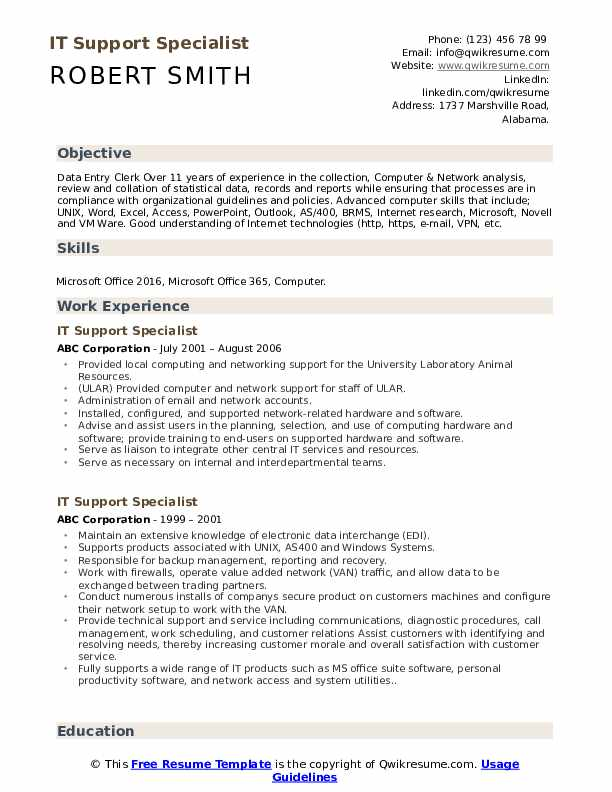 it support specialist resume samples qwikresume computer examples pdf optimal san jac Resume Computer Support Specialist Resume Examples