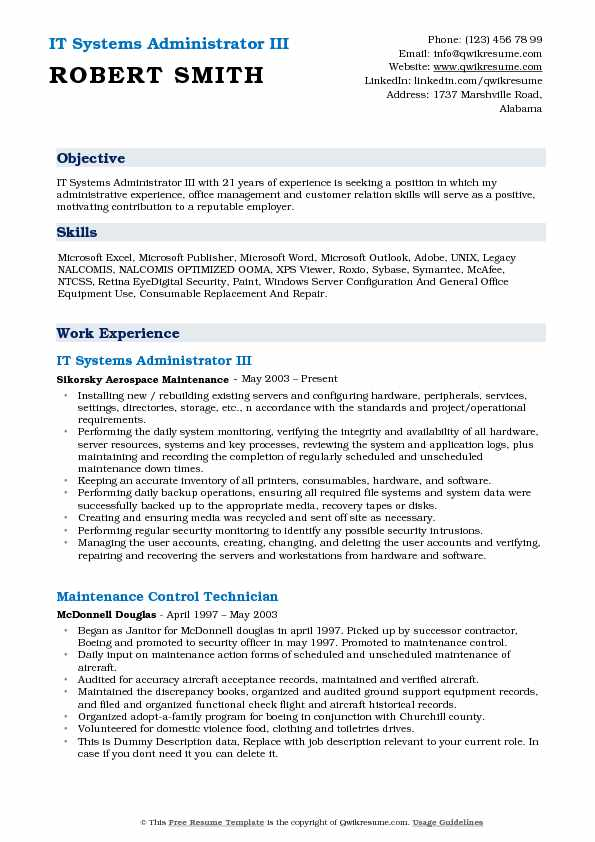 it systems administrator resume samples qwikresume system objective pdf acting template Resume System Administrator Resume Objective