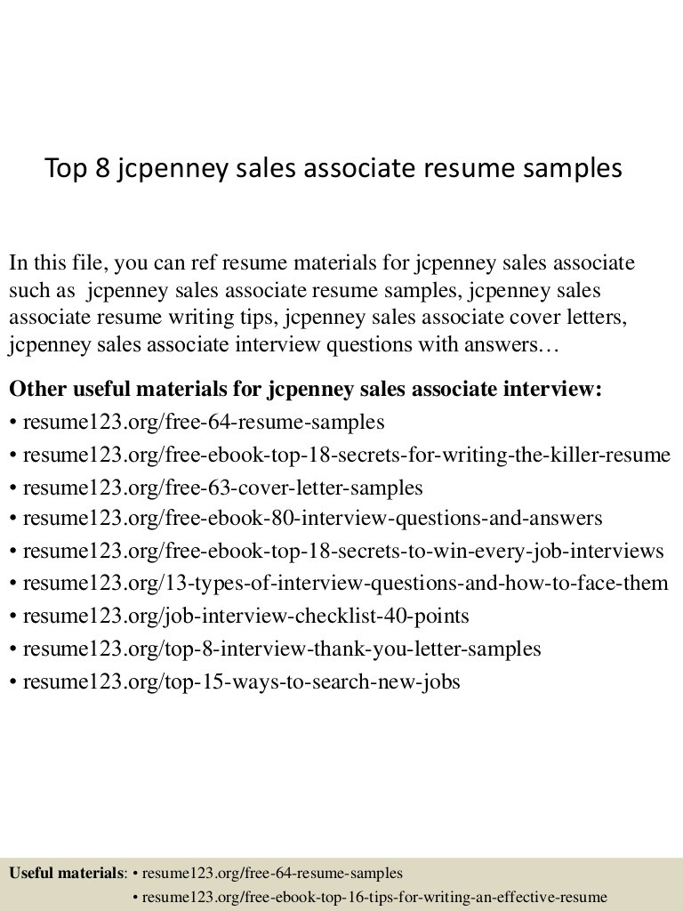 jcpenney associate resume evie barlow examples top samples of social media manager Resume Jcpenney Resume Examples