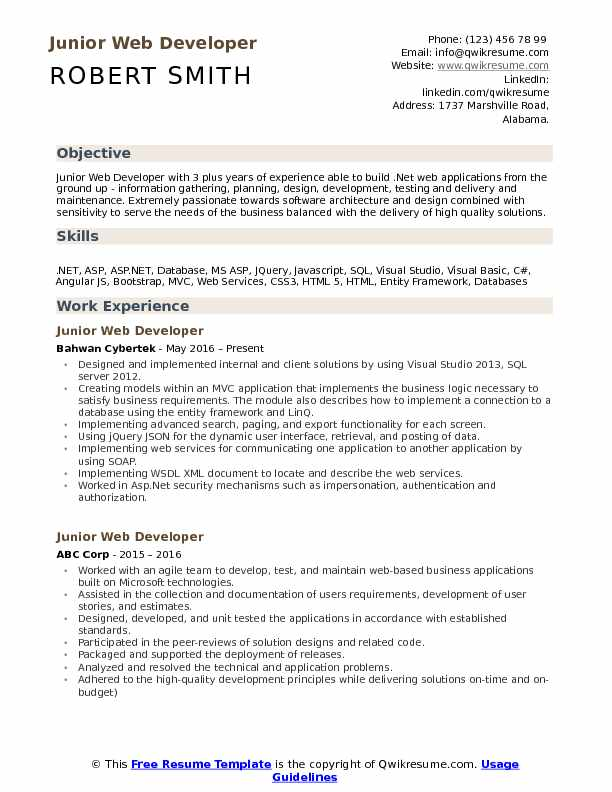 junior web developer resume samples qwikresume soap services pdf business management Resume Soap Web Services Developer Resume