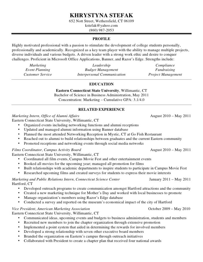 khrystyna stefak resume community outreach coordinator writing your address on follow up Resume Community Outreach Coordinator Resume