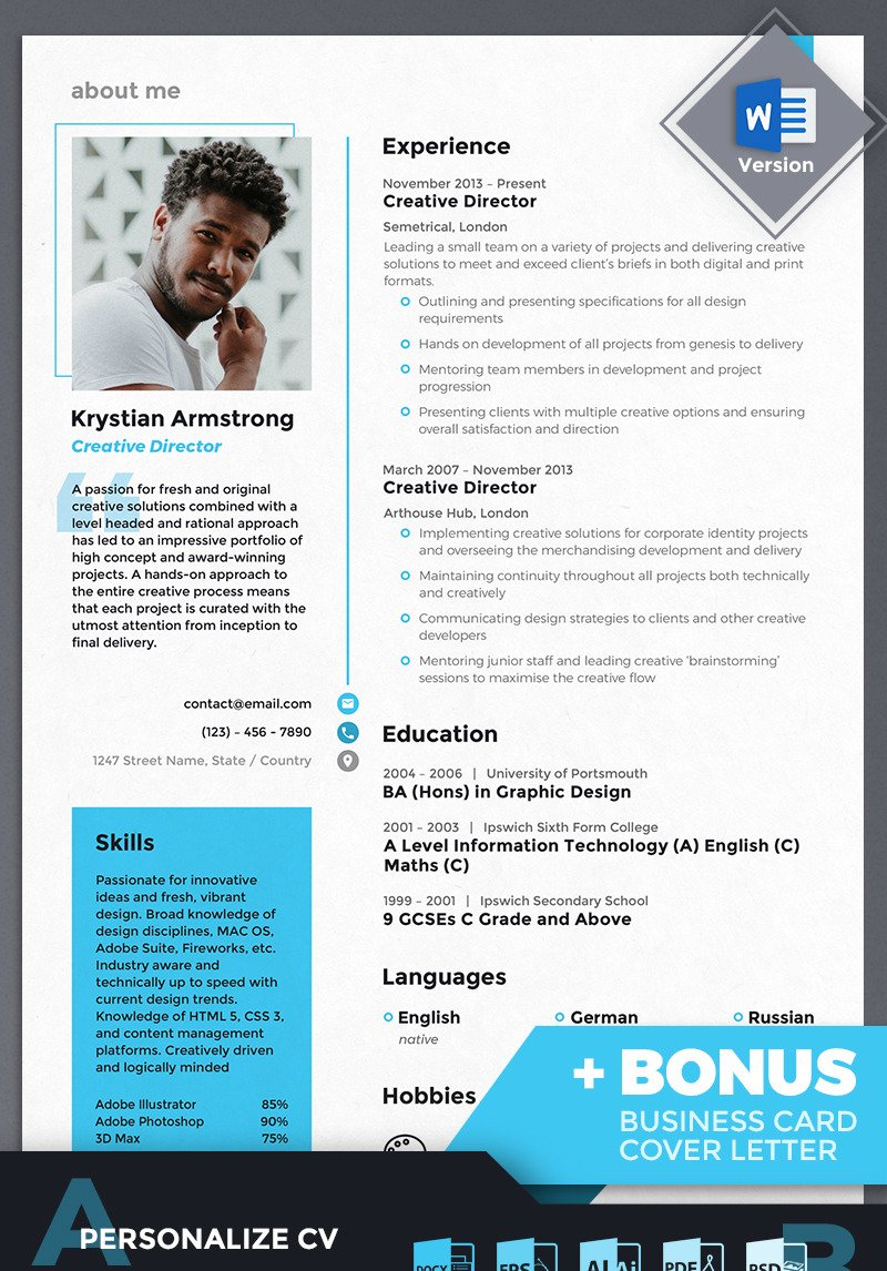 krystian creative director resume template original cover letter examples office Resume Creative Director Resume