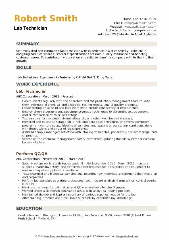 lab technician resume samples qwikresume research examples pdf punctuation sample for Resume Research Technician Resume Examples