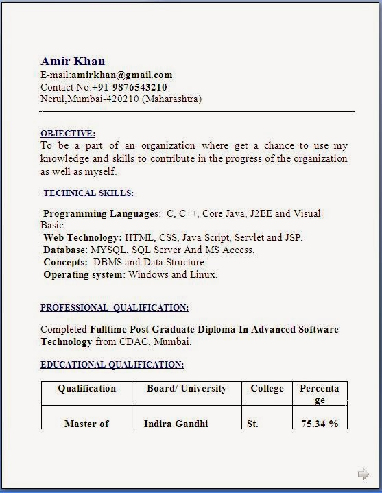 latest express news daily jobs live beautiful resume format for mca students freshers Resume Resume Format For Mca Students