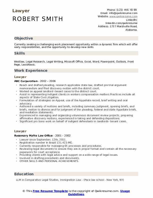 lawyer resume samples qwikresume format for law students pdf hospital chaplain material Resume Resume Format For Law Students