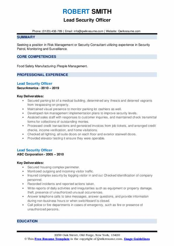 lead security officer resume samples qwikresume field pdf best bio for oil and gas Resume Security Field Officer Resume