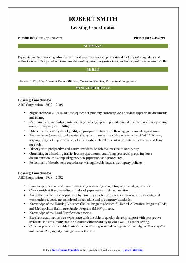 leasing coordinator resume samples qwikresume pdf for student council application Resume Leasing Coordinator Resume