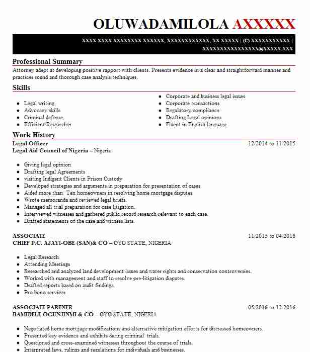 legal officer resume example resumes misc livecareer manager sample nail technician Resume Legal Manager Resume Sample