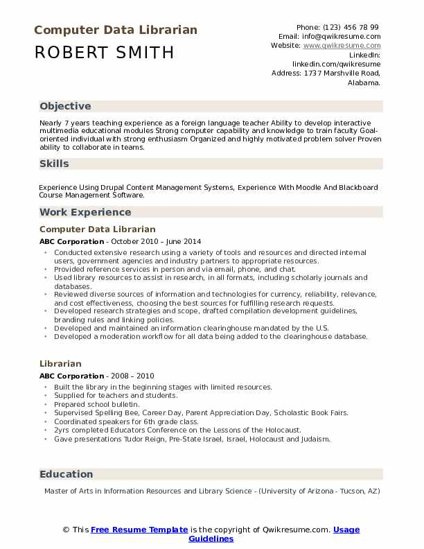 librarian resume samples qwikresume sample pdf gis analyst view examples plant operations Resume Librarian Resume Sample