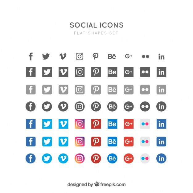 linkedin images free vectors stock photos symbol for resume flat social icons inside Resume Linkedin Symbol For Resume