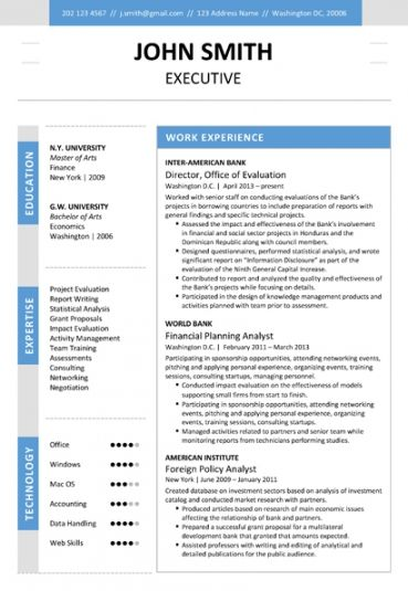 linkedin resume template trendy resumes in executive creative templates headshot and Resume Trendy Resume Templates