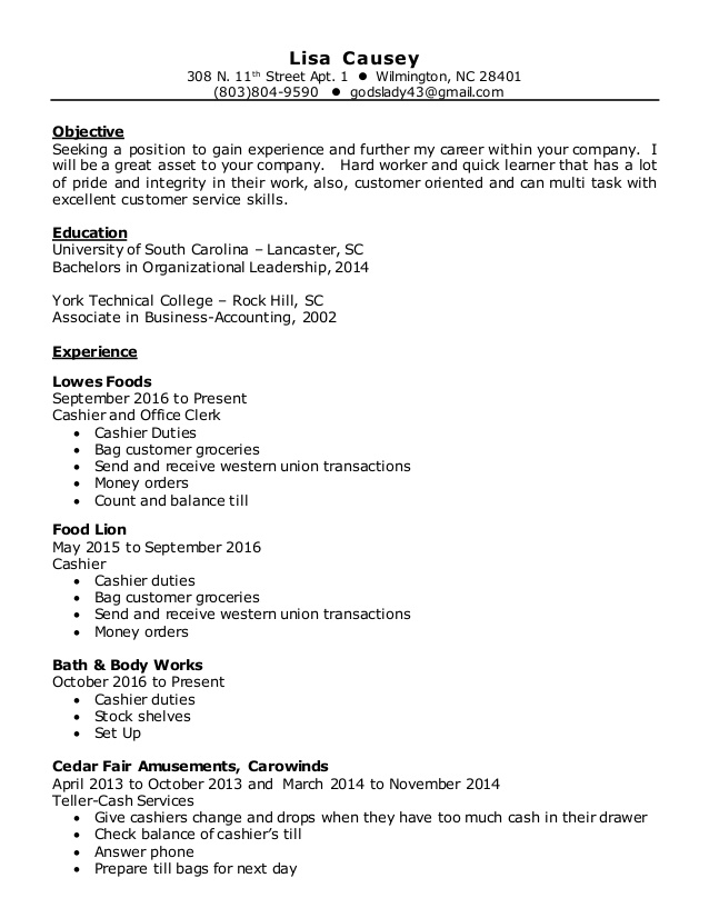 lisa resume and body works job description for film template should include references Resume Bath And Body Works Job Description For Resume