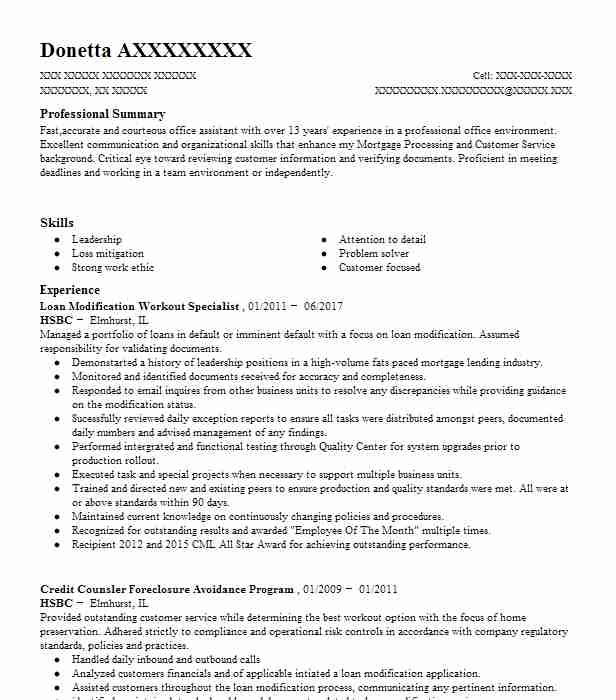 loan modification specialist resume example the lester law firm jacksonville transaction Resume Loan Modification Specialist Resume