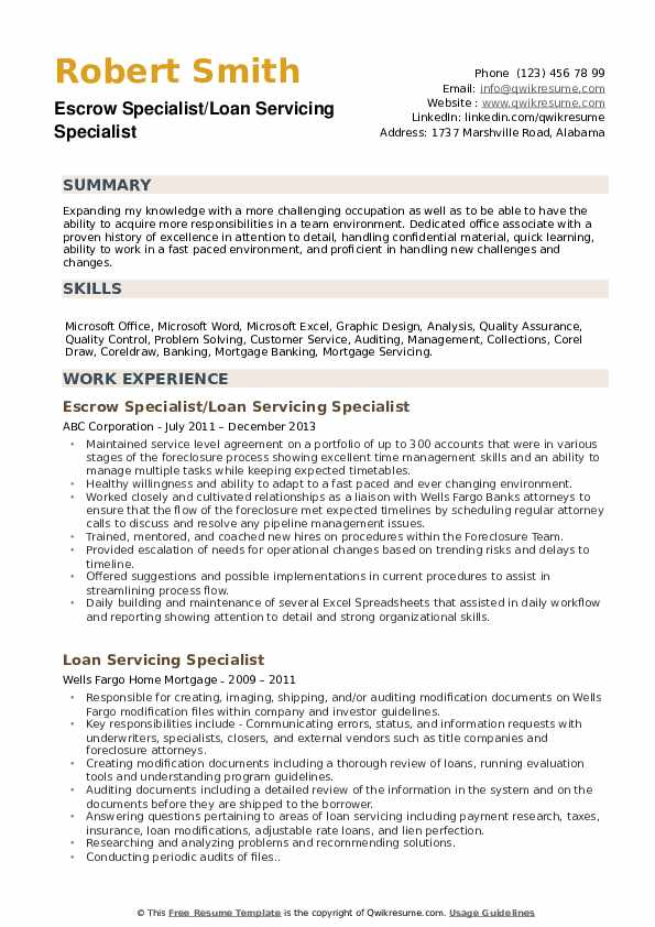loan servicing specialist resume samples qwikresume modification pdf technical theatre Resume Loan Modification Specialist Resume